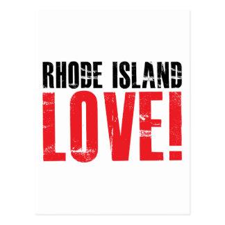 Rhode Island Love Postcard