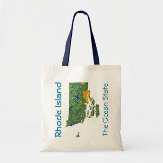 Rhode Island Map Bag