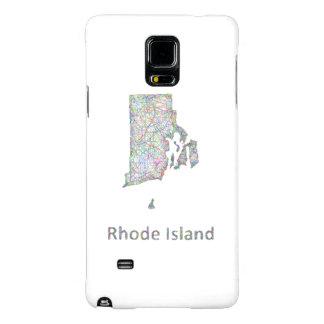 Rhode Island map Galaxy Note 4 Case