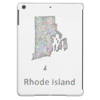 Rhode Island map iPad Air Covers