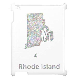 Rhode Island map iPad Cover