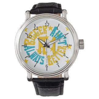 Rhode Island: Más grande no es siempre mejor Relojes