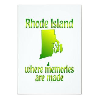 Rhode Island Memories Card
