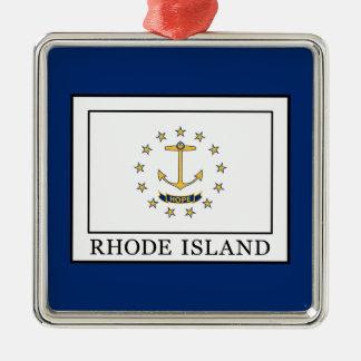 Rhode Island Metal Ornament