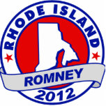 Rhode Island Mitt Romney Acrylic Cut Out