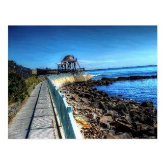 Rhode Island, Newport Cliff Walk - Post Card