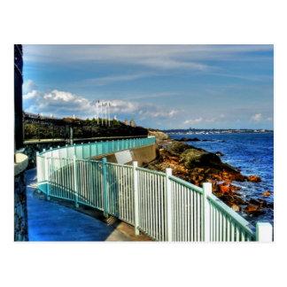 Rhode Island, Newport Cliff Walk - Postcard