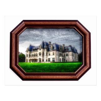 Rhode Island, Newport Mansion - Postcard