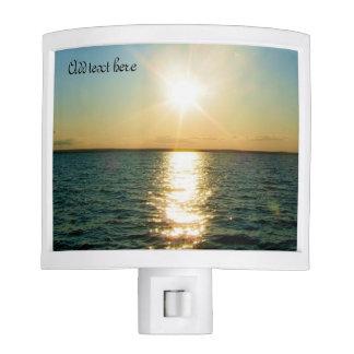 Rhode Island ocean sunset night light