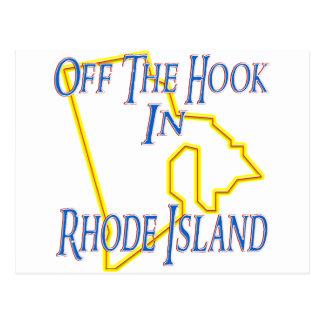 Rhode Island - Off The Hook Postcard