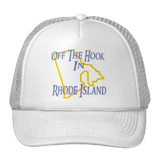 Rhode Island - Off The Hook Trucker Hat