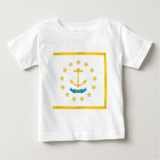 Rhode Island  Official State Flag Baby T-Shirt