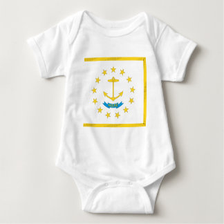 Rhode Island  Official State Flag Infant Creeper