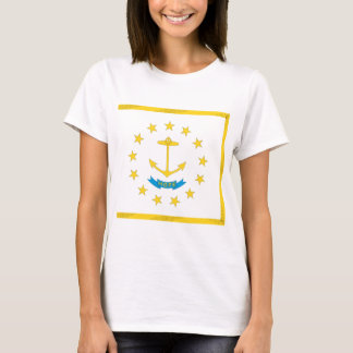 Rhode Island  Official State Flag T-Shirt