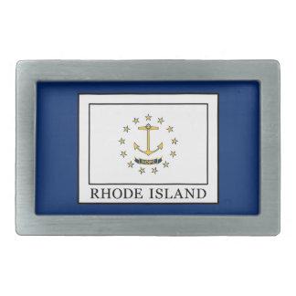 Rhode Island Rectangular Belt Buckle
