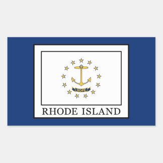 Rhode Island Rectangular Sticker