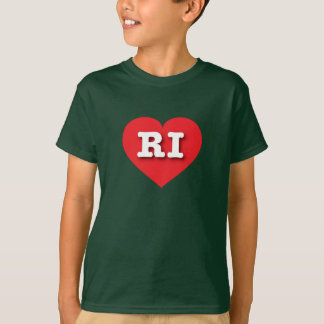 Rhode Island Red Heart - Big Love T-Shirt