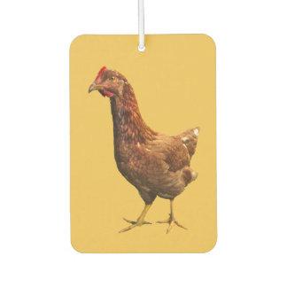 Rhode Island Red Hen Chicken Air Freshener