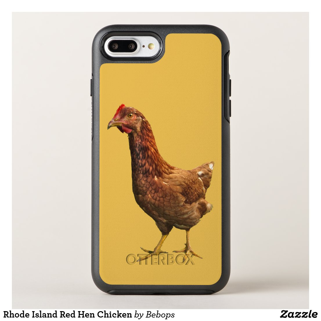 Rhode Island Red Hen Chicken OtterBox Symmetry iPhone 7 Plus Case
