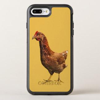 Rhode Island Red Hen Chicken OtterBox Symmetry iPhone 7 Plus Case