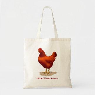 Rhode Island Red Hen Tote Bag