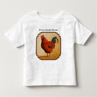 Rhode Island Red Rooster Chicken Toddler T-shirt