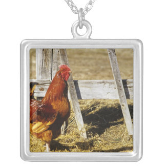 Rhode Island Red Rooster Custom Necklace