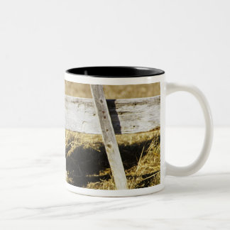Rhode Island Red Rooster Two-Tone Coffee Mug