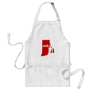 RHODE ISLAND RED STATE ADULT APRON