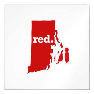 RHODE ISLAND RED STATE MAGNETIC CARD