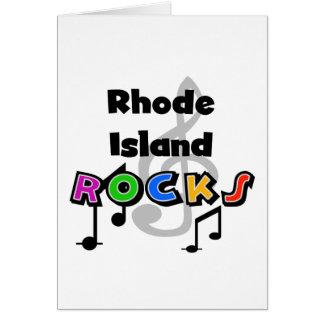 Rhode Island Rocks Greeting Card