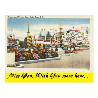 Rhode Island, Rocky Point Park Postcard