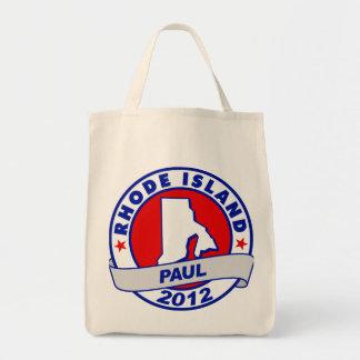 Rhode Island Ron Paul Canvas Bag