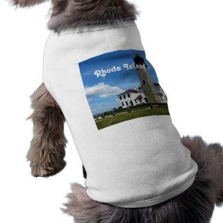 Rhode Island Playera Sin Mangas Para Perro