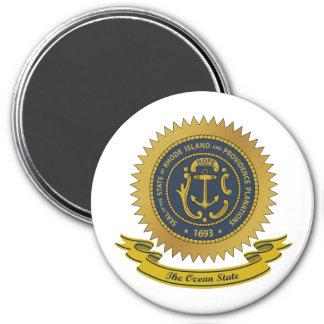 Rhode Island Seal Magnet
