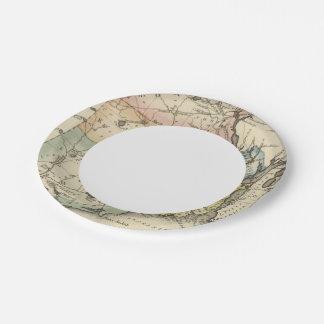 Rhode Island 7 Inch Paper Plate