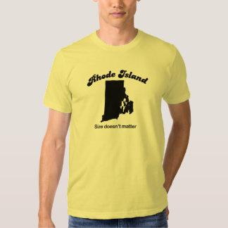 Rhode Island - Size doesn't matter Tshirts
