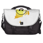 Rhode Island Smiley Face Bags For Laptop
