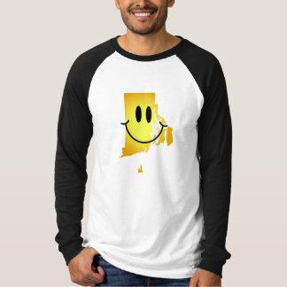 Rhode Island Smiley Face T-shirt