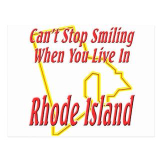 Rhode Island - Smiling Postcard