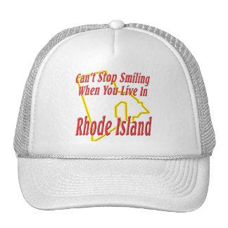 Rhode Island - Smiling Trucker Hat
