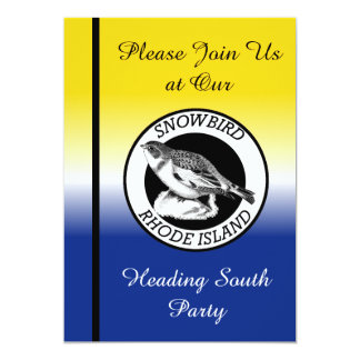 Rhode Island Snowbird Shield Card