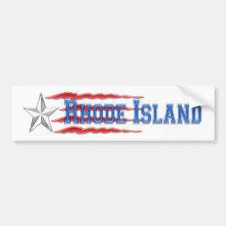Rhode Island spirit Bumper Sticker