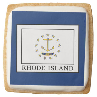 Rhode Island Square Shortbread Cookie
