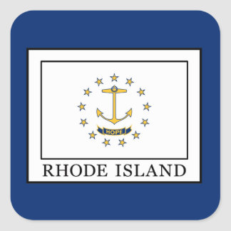 Rhode Island Square Sticker