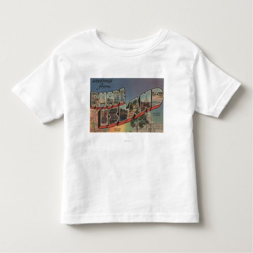 Rhode Island (State Capital/Flower) T Shirts