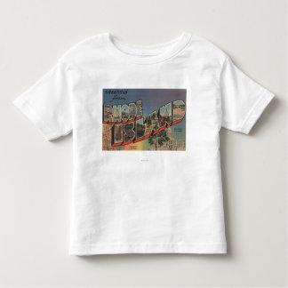 Rhode Island (State Capital/Flower) Toddler T-shirt