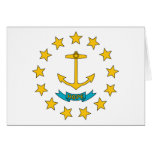 Rhode Island State Flag Cards