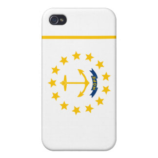 Rhode Island State Flag Case For iPhone 4