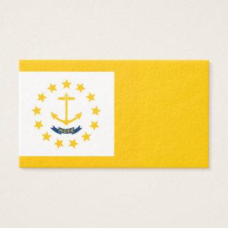 Rhode Island State Flag Design Business Card